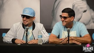 Danny & Angel Garcia FULL POST FIGHT/ Talks Giving Paulie A Victory Lap