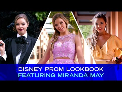 Disney Prom Lookbook Featuring Miranda May | Disney Style