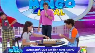 Domingo Legal (01/12/13) - Guerra de Ovos com A Patrulha Salvadora e Chiquititas