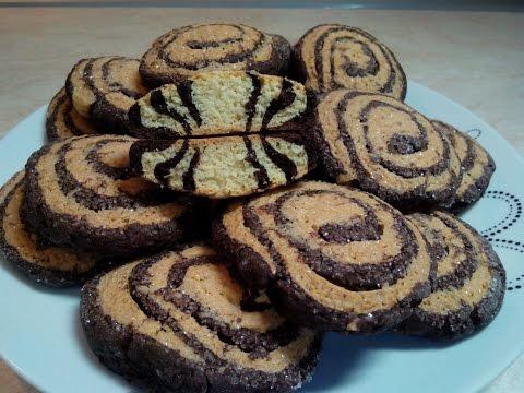 Рецепт вкусного печенья Печенье на кефире УЛИТКА