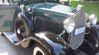 Starting and driving 1931 Ford Model A