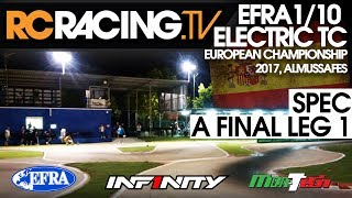 EFRA 1/10th Electric Touring Car Euros 2017 - Spec A Final Leg 1
