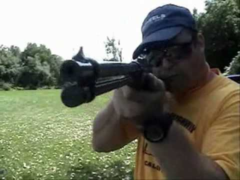 Accidental camera shooting - Browning BL-22 Lever Action Rifle