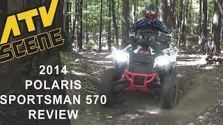 2014 Polaris Sportsman 570 Review