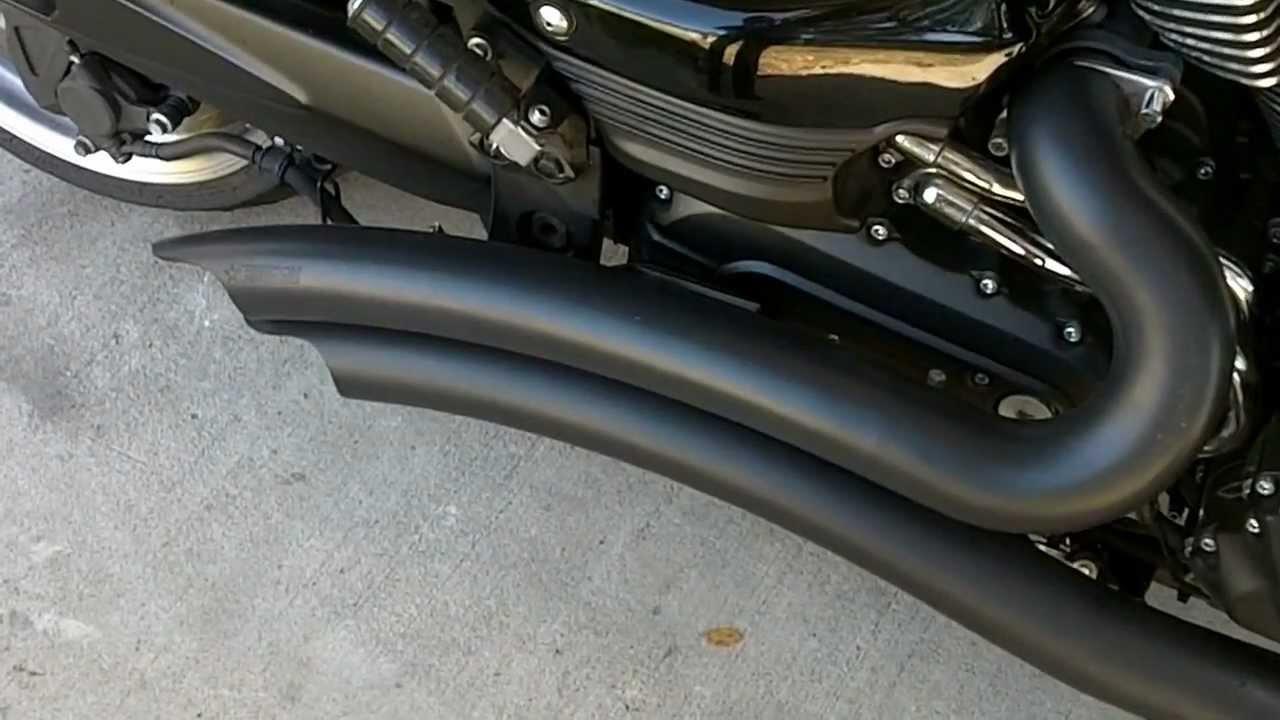 Yamaha Raider Cobra Exhaust
