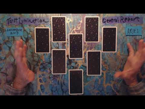 ARIES / DECEMBER 2017 - General Reading ~ Tarot Lumination