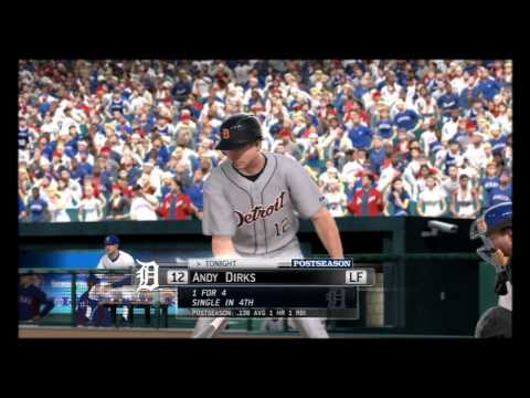 MLB 13 the Show- ALCS 9th Inning Gameplay + Celebration (Postseason Mode)