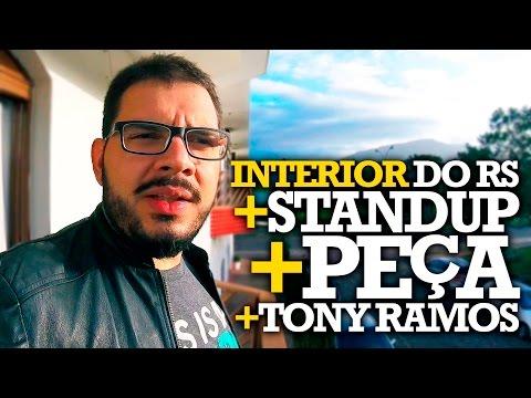 INTERIOR + STANDUP + PEÇA + TONY - #06 VAMO NESSA! Vídeos de zueiras e brincadeiras: zuera, video clips, brincadeiras, pegadinhas, lançamentos, vídeos, sustos