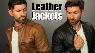 Where To Buy BADASS Leather Jackets This Season & 4 BADASS Ways To Wear Them!