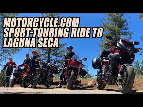 Rider's Choice: Motorcycle.com Sport-Touring Ride to Laguna Seca