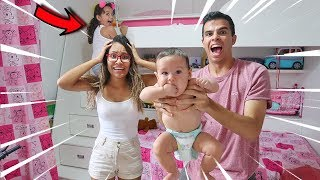 VIRAMOS BABÁS POR UM DIA!! - (DESESPERO) - KIDS FUN
