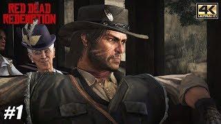 Red Dead Redemption - Xbox One X Gameplay Playthrough 4K 2160p - PART 1