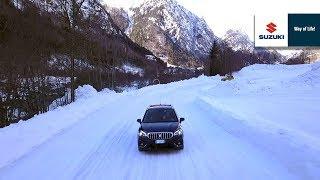 Suzuki 4WD ALLGRIP - Snow Test Drive