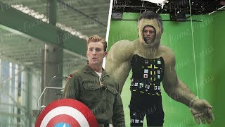 Avengers Endgame Without the VFX - Part 3 [Framestore VFX Breakdown]