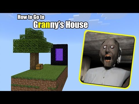 How to go to Granny's House | Minecraft PE