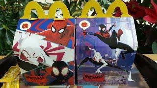 Cajita Feliz McDonald's Spider-Man Into The Spider-Verse (Diciembre 2018/Enero 2019)