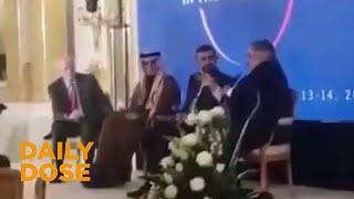 Leaked Video Shows Arab Ministers Defending Israel