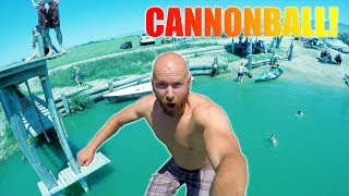 How to Make The Perfect Cannonball
