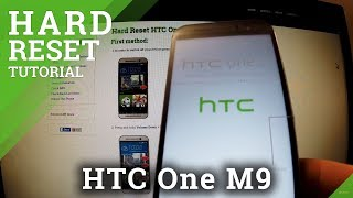 Hard Reset HTC One M9 - bypass screen lock