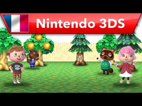 Animal Crossing: New Leaf - Bande-annonce Prsentation du jeu (Nintendo 3DS)