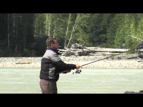 5 friends in Terrace BC, CANADA, for fishing Salmon