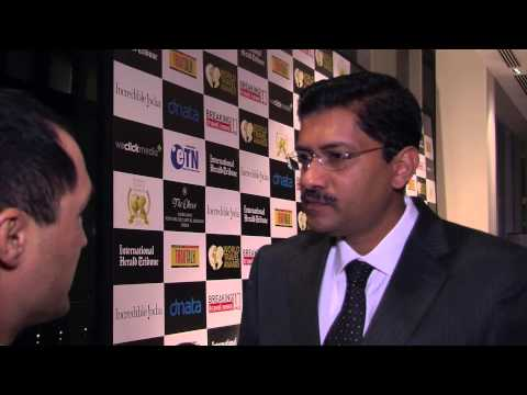 Ashok Kumar, finance director, Royal Jet, at World Travel Awards Grand Final 2012