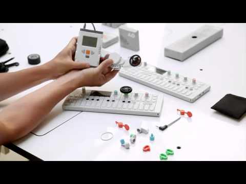 Teenage Engineering OP-1 Synth Accessory Demo