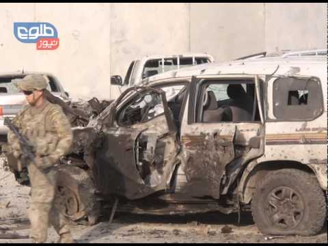TOLOnews 13 October 2014 Kabul Suicide Attack / حملۀ انتحاری در شهر کابل