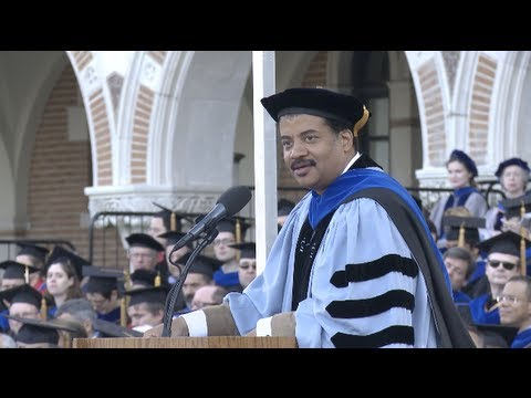 Neil deGrasse Tyson says America has lost its exploratory compass at Rice&#039;s 100th commencement