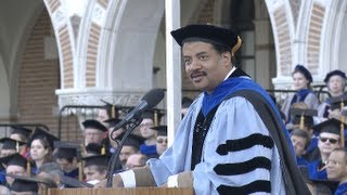 Neil deGrasse Tyson says America has lost its exploratory compass at Rice's 100th commencement