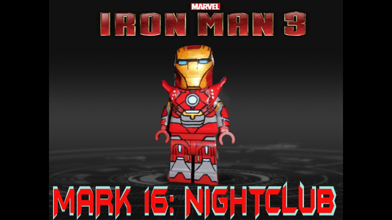 Iron Man Mark 16 Nightclub Lego Mark 16 Nightclub