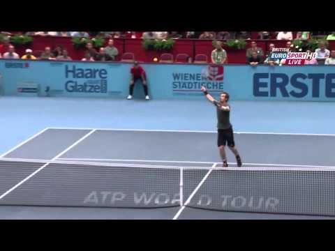 Andy Murray vs David Ferrer ATP 2014 Vienna Final Highlights