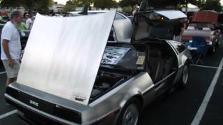 Turbo Delorean Walk Around