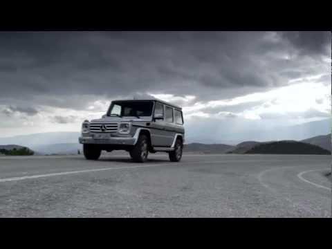 Mercedes-Benz G-class 2012, реклама