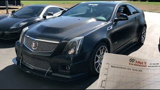 Even my CTS-V daily is faster than Ferretti's vette | Rob Dahm