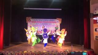 CT College (CTIEMT) Bhangra @PTU Youth Fest 2016