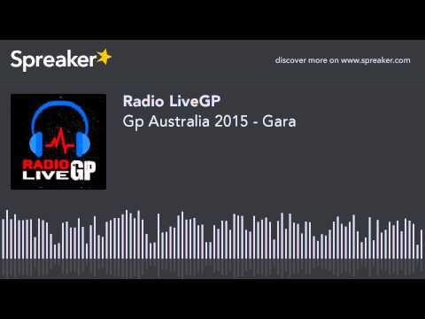 Gp Australia 2015 - Gara