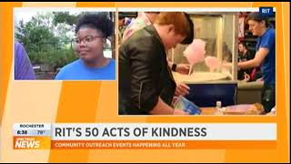 RIT on TV: 50 Acts of Kindness: Relay for Life