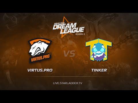 Virtus Pro vs Team Tinker Game 1, Dreamleague S2 Playoffs