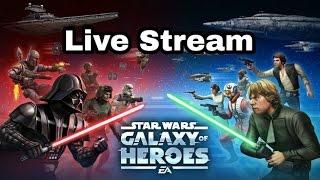 Star Wars Galaxy Of Heroes Late Night Stream