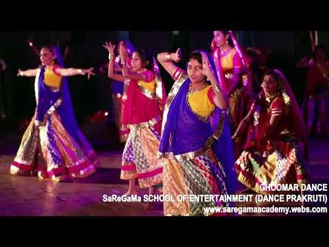 Beautiful ghoomar dance performance by SaReGaMa's Angles. Dance prakruti