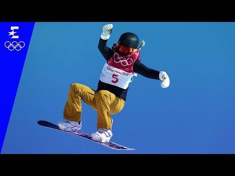 Snowboard | Ladies' Big Air Highlights | Pyeongchang | Eurosport