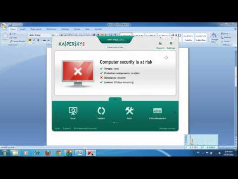 Kaspersky Anti-Virus 2012 Activation Trick & Daily Updated Keys (Free For All)