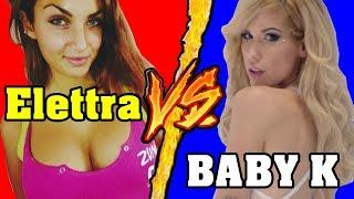 Elettra Lamborghini VS Baby K (PARODIA Come no) Battaglia Rap Epica