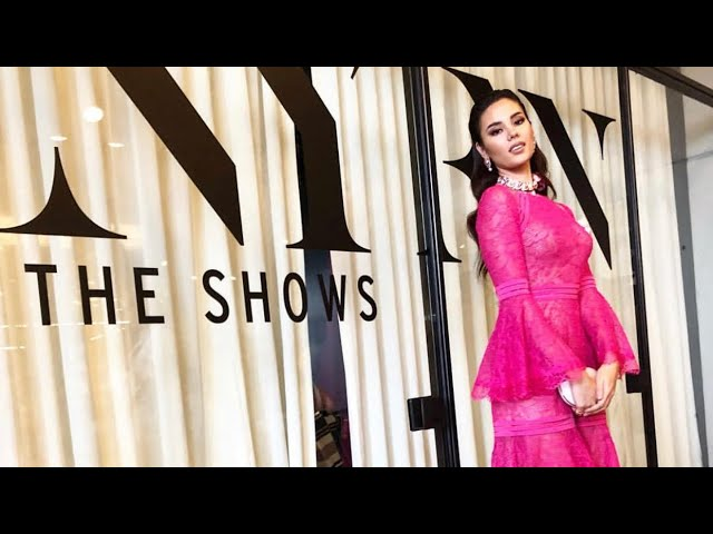 NEW YORK FASHION WEEK Day 2 OOTD | Miss Universe Catriona Gray is pretty in pink