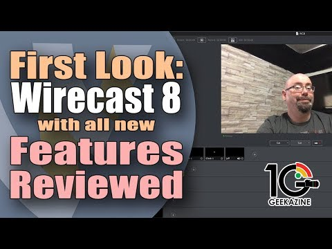Wirecast 8 First Look. New Features Reviewed!