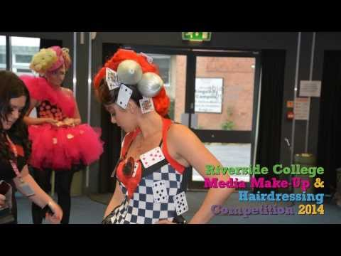 Riverside College Students Compete in Media Make Up and Hairdressing Competition - Hair and Beauty