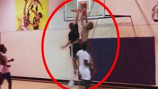 LaMelo Ball DUNKED ON ME..