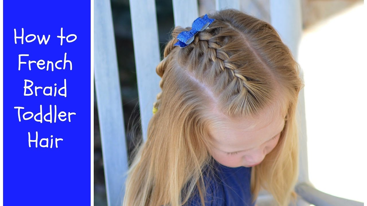 French braid hairstyles for little girls