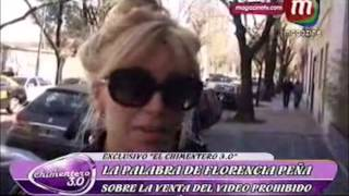 """Habló Florencia Peña, tras la venta de """"Peteras"""", el DVD que la tiene como protagonista"""